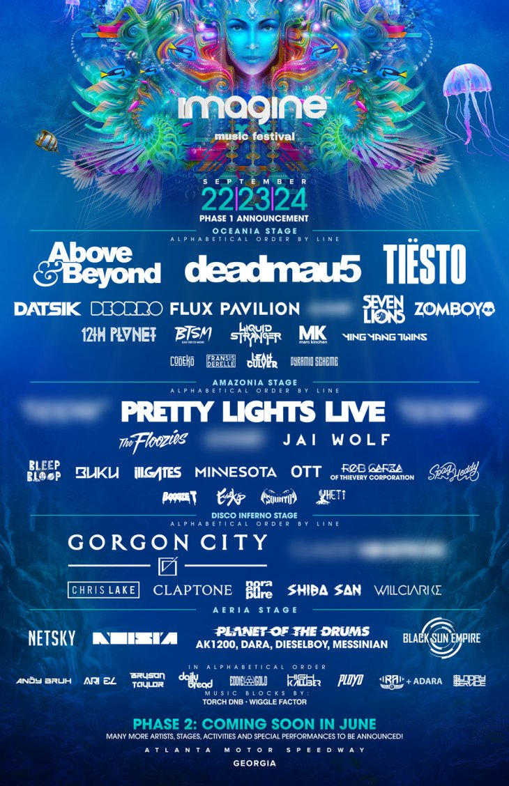 Imagine Music Festival 2017 Phase 1