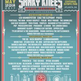Shaky Knees 2017 Lineup