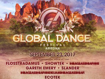 Global Dance 2017 Phase 1 Lineup