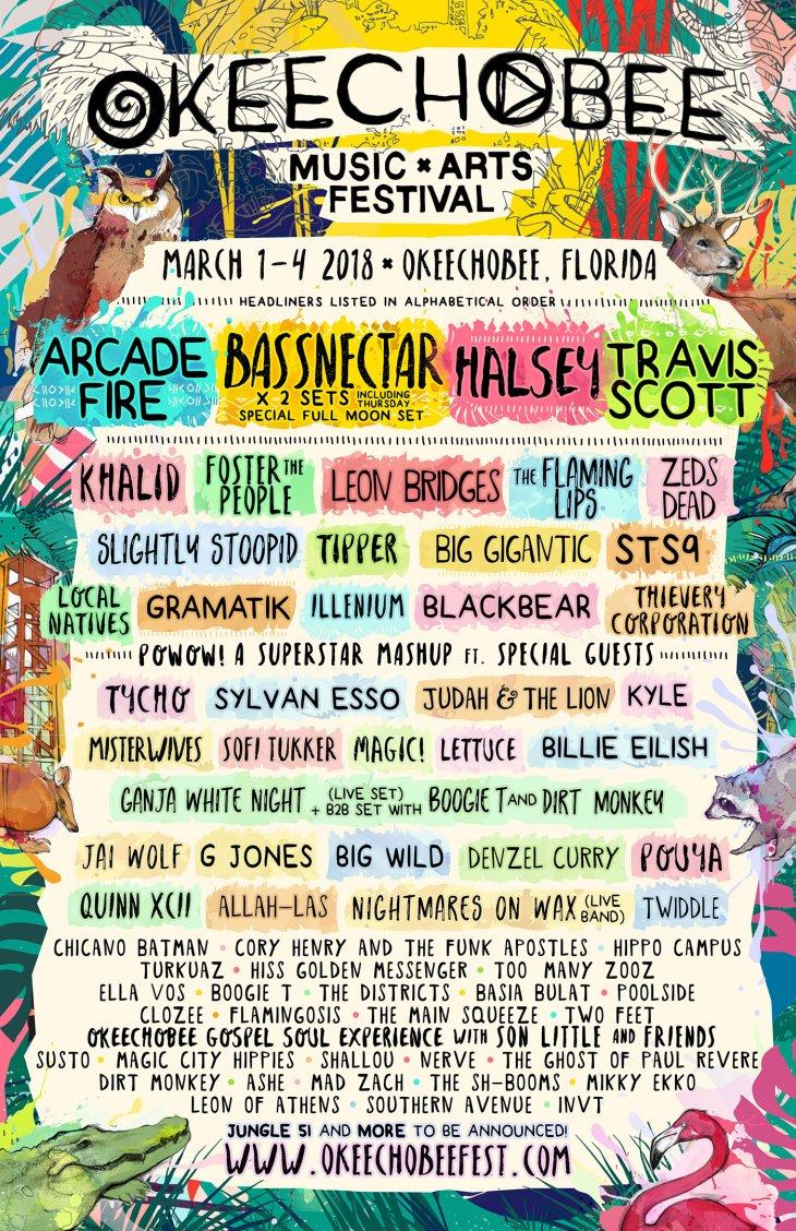Okeechobee Music Festival 2018 Lineup