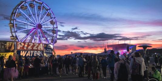 DecadenceAZ 2017 Sunset
