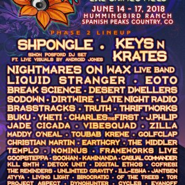 Sonic Bloom 2018 Lineup