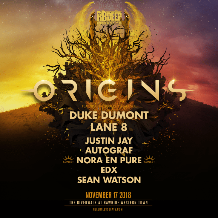 RBDeep Presents Origins 2018