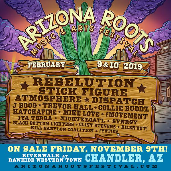 Arizona Roots Music & Arts Festival 2018 Lineup