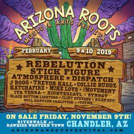 Arizona Roots Music & Arts Festival 2018 Lineup