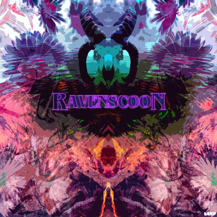 Ravenscoon - Beautiful Chaos EP Cover, Designed by DRIP Graphics