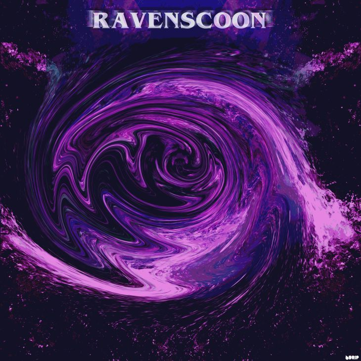 Ravenscoon - Beautiful Chaos Cover Art, Designed by DRIP Graphics
