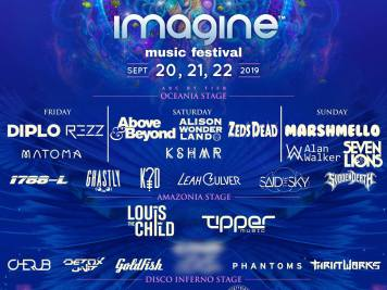 Imagine Music Festival 2019 Phase 1