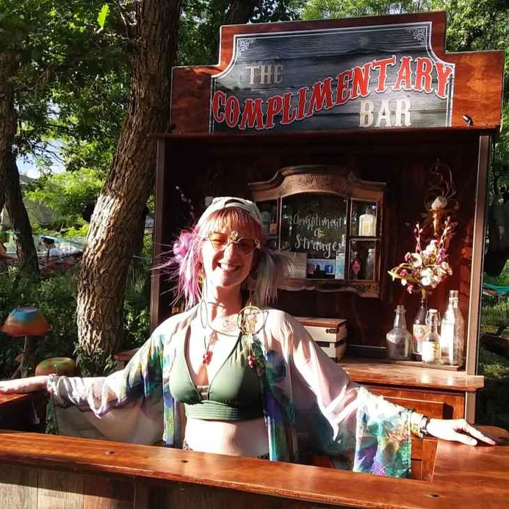 The Complimentary Bar at Sonic Bloom 2019