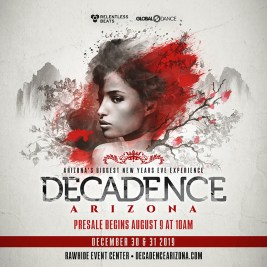 Decadence AZ 2019 Announcement