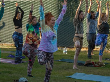 Yoga at Gem & Jam 2020