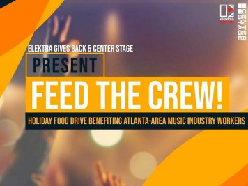 Elektra Gives Back & Center Stage present Feed the Crew!