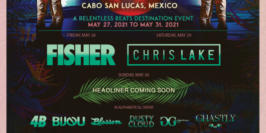 Waves Mexico 2021 Lineup