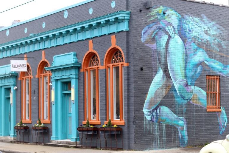 Ellman's Dancewear shop front