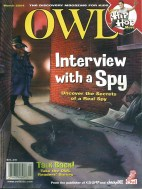 Owl Magazine Cover