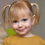 Pigtails are acceptable for younger dancers with mid-length hair.