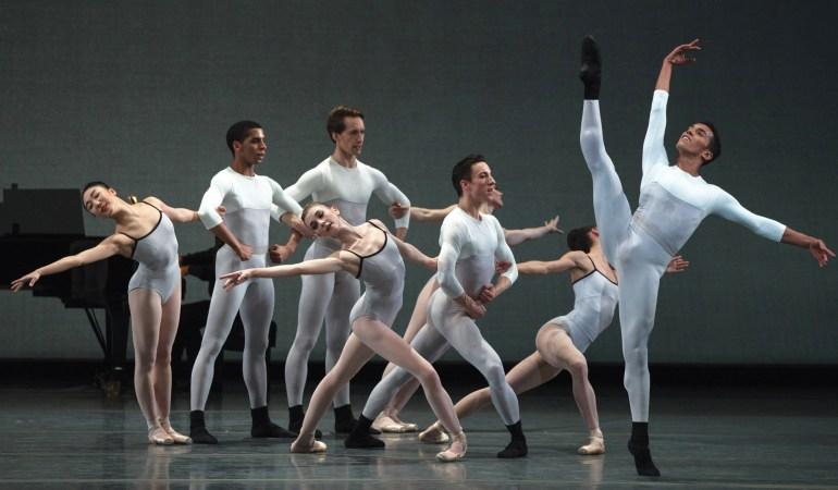Boston Ballet in Justin Peck's In Creases Photo: Rosalie O'Connor