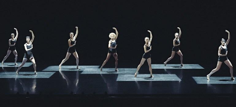 Les Grands Ballets Canadiens in Jirí Kylián's Falling Angels  Photo: Sasha Onyshchenko