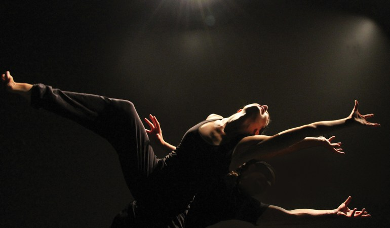 Renée Sigouin in Out Innerspace Dance Theatre's Major Motion Picture  Photo: Courtesy of Out Innerspace Dance Theatre