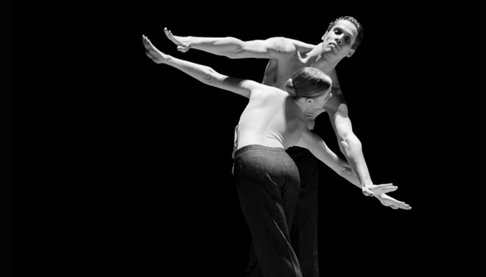 Heather MacIsaac and Roland Havlica in Marco Goecke's Le Chant du Rossignol  Photo: Bernd Weissbrod