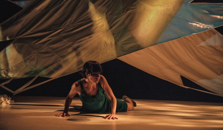Anisa Tejpar in Hanna Kiel's In Time Photo: Francesca Chudnoff