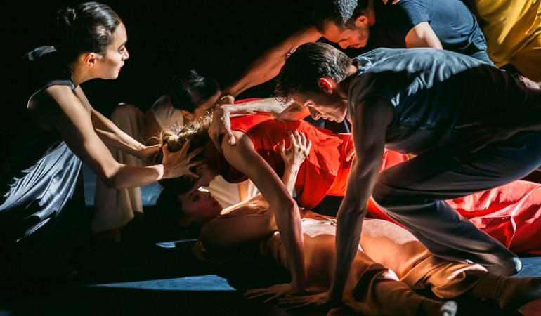 Nederlands Dans Theater in Crystal Pite's Partita for 8 Dancers