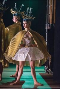 Elizabeth Lamont of the Royal Winnipeg Ballet in Mark Godden's Going Home Star — Truth and Reconciliation Photo: Samanta Katz