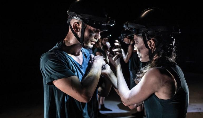 Skånes Dansteater's Riccardo Zandoná and Maria Pilar Abaurrea in Hyerim Jang's Burnt Offering Photo: Tilo Stengel