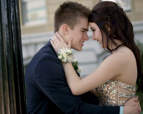 My neice and her boyfriend at prom