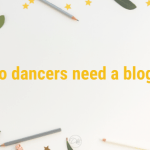 Do dance studios need blogs?