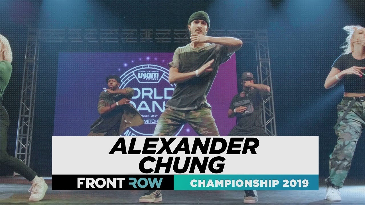 Alexander Chung | FRONTROW | World of Dance Championship 2019 | #WODCHAMPS19