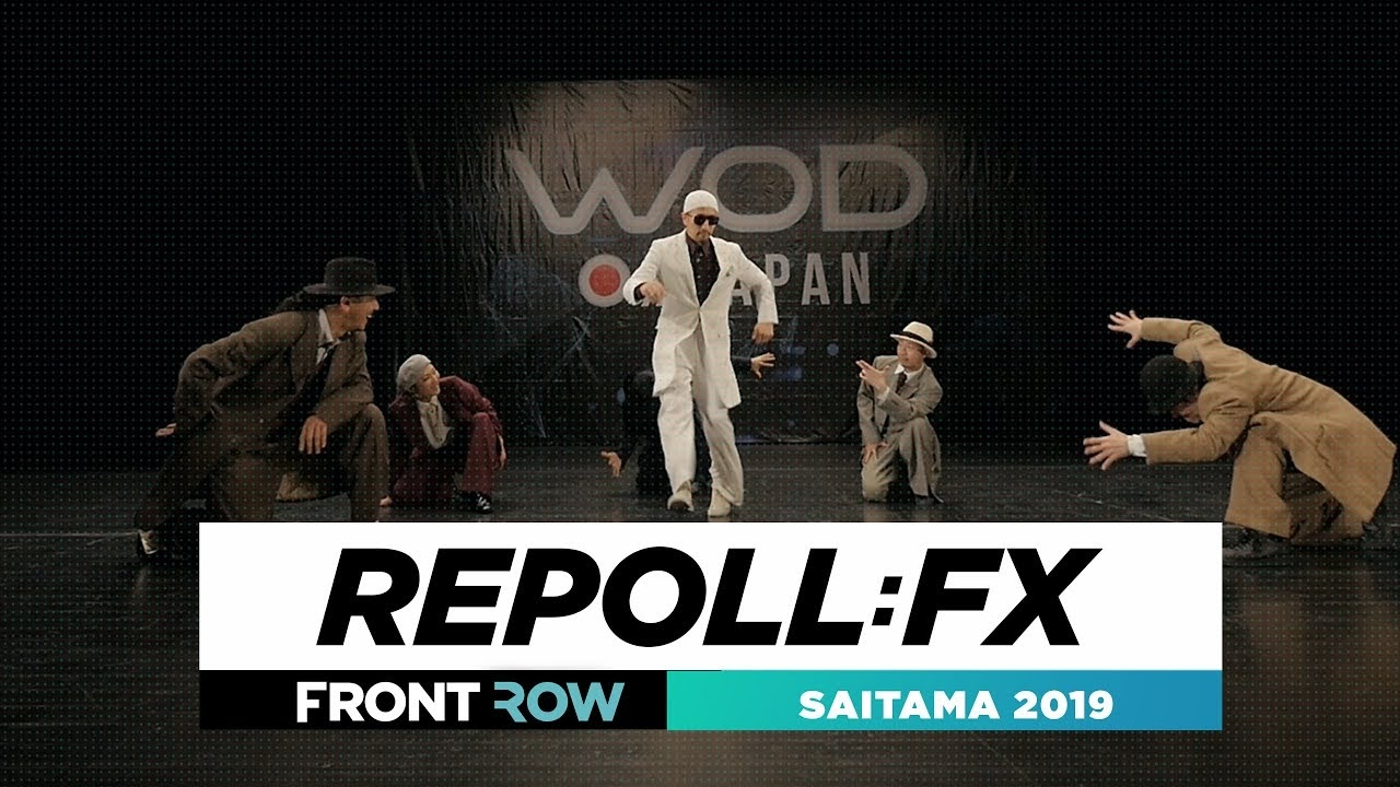 Repoll:FX | FRONTROW | World of Dance Saitama 2019 | #WODSaitama19