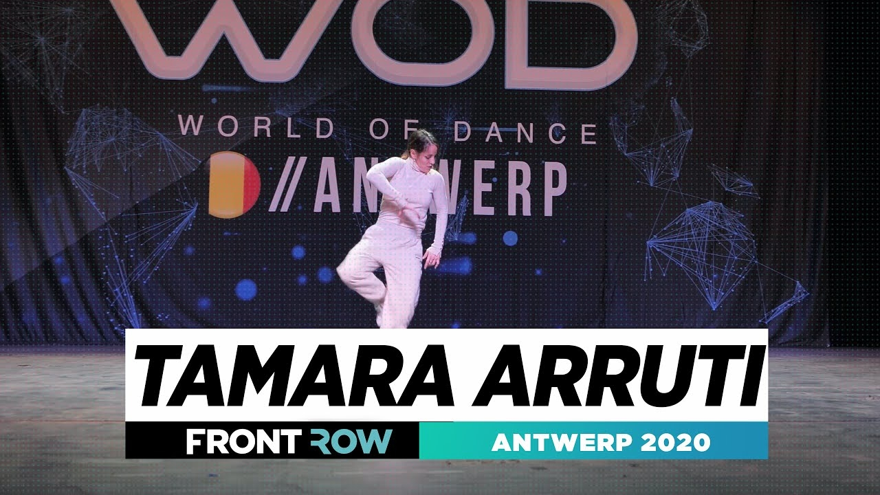 Tamara Arruti | Frontrow | World of Dance Antwerp 2020 | #WODANT2020