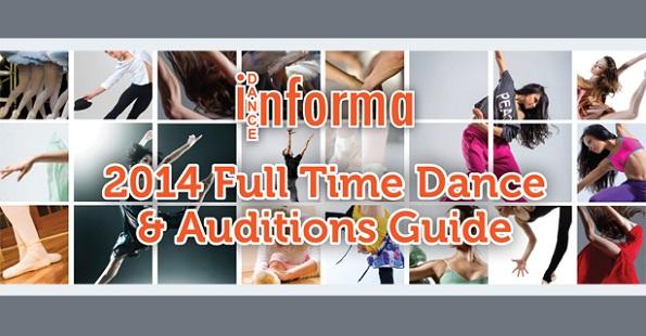 Australia's Full Time Dance & Auditions Guide