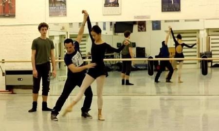 Tim Podesta working with English National Ballet