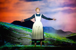 Amy Lehpamer as Maria Rainer in 'The Sound of Music'. Photography by James Morgan