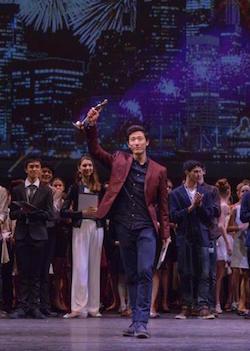 YAGP Grand Prix recipient, Korea's Joonhyuk Jun of the Royal Ballet School. Photo courtesy of YAGP