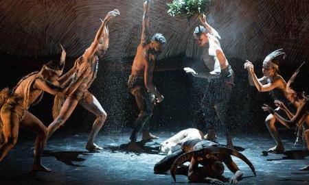 Bangarra Dance Theatre's 'Nyapanyapa', as part of 'OUR land people stories'. Photo by Jhuny Boy-Borja.