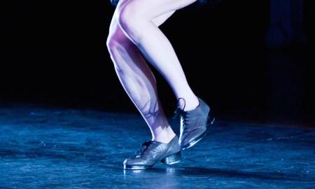 Tap dancer feet