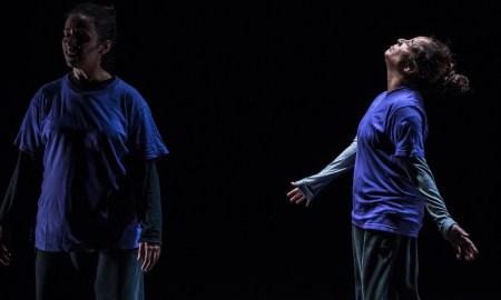 Nacera Belaza's 'The Shout'. Photo by Gregory Lorenzutti.