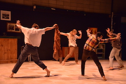 Dance Makers Collective's 'DADS'. Photo by Dominic O'Donnell.