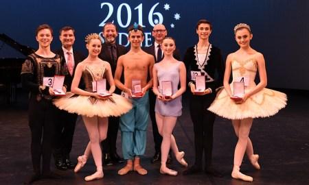 2016 Genée winners. Photo by Winkipop Media, courtesy of the Royal Academy of Dance.