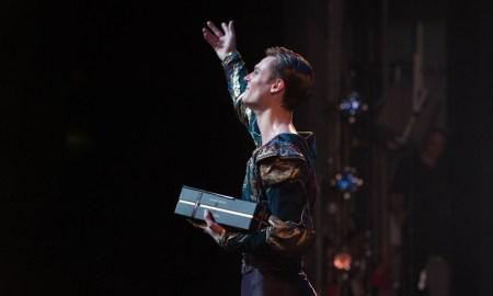 Queensland Ballet's Joel Woellner. Photo by David Kelly.