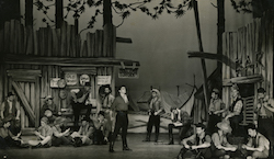 Noel Tovey in 'Paint Your Wagon'. Photo courtesy Tovey