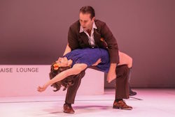 Shaun Parker and Lucia Mastrantone in 'Blue Love'. Photo by David James McCarthy.