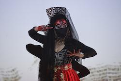 'Urban Kali'. Photo by Heidrun Lohr.