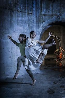New Zealand Dance Company in 'OrphEus'. Photo by John McDermott.