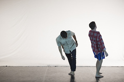 Dancers Matt Cornell and Michael Smith from DirtyFeet's 'Out of the Studio'. Photo by Lucy Parakhina.