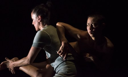 Lucy Guerin Inc's 'SPLIT'. Photo by Gregory Lorenzutti.