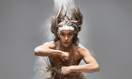 Bianca Hyslop in Atamira Dance Company's 'Kotahi I'. Photo by Charles Howells.